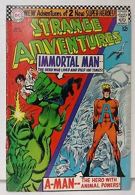 Strange Adventures #190 1st App Animal Man in Costume - Animal Man Costume