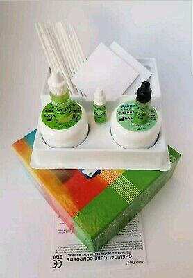 Dental Chemical Self Cure Composite Kit 15gm15gm Exp012022