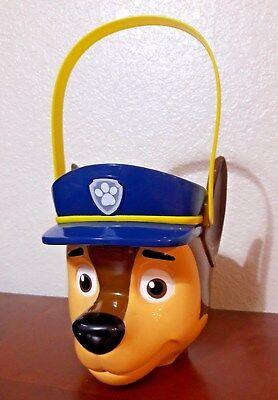Paw Patrol Bucket Chase Marshal Police Dog K9 Halloween Bag Easter Basket Bucket - Paw Patrol Halloween Bucket