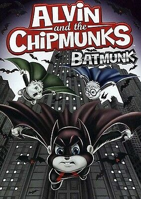Alvin and the Chipmunks: BATMUNK (DVD) & simon theodore dave cartoon halloween