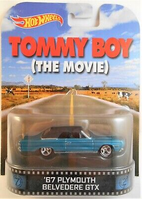 2013 HOT WHEELS RETRO ENTERTAINMENT TOMMY BOY '67 PLYMOUTH BELVEDERE GTX