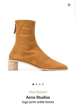 Authentic NWOT ACNE STUDIOS Bertine Boots EU38 US8