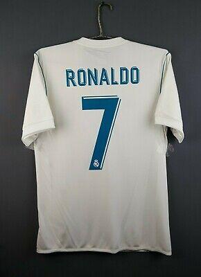 101a4144f 4.8/5 Ronaldo Real Madrid jersey S 2018 home shirt AZ8059 Adidas soccer ig93