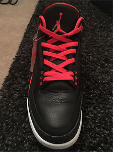 Jordan Retro 3 Crimson Deadstock