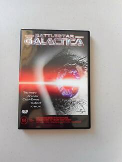 Battlestar Galactica DVD Cylon Robots 3 hour mini-series Sci Fi