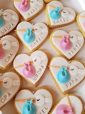 Geburt Taufe Kindergeburtstag  Gebäck  Kekse 30 Stück
