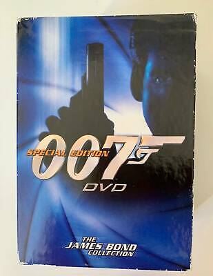 The James Bond Collection - Special Edition 007: 7 DVD Box