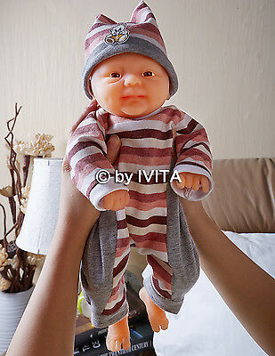 Full Body Silicone Reborn Baby Doll Girl Alive Preemie Newborn Birthday Gift