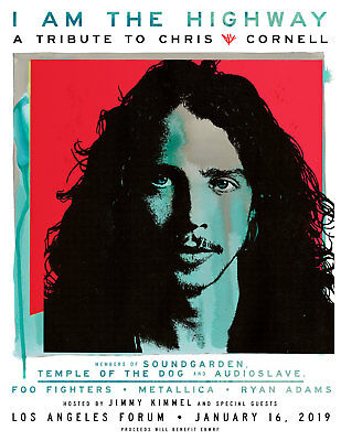 I AM THE HIGHWAY : CHRIS CORNELL TRIBUTE : Forum (Jan 16) SECTION 135 : (1) TIX