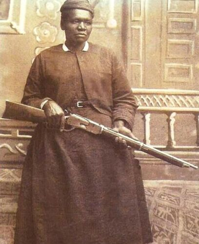 MARY FIELDS-First African-American Woman Employed as a Mail Carrier-1895 PHOTO