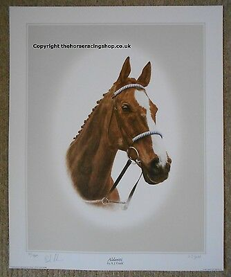 Aldaniti Limited Edition Print Grand National signed Bob Champion Horse Racing