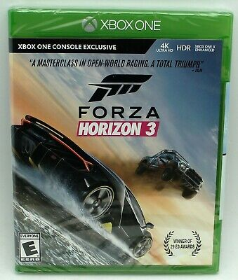 Forza Motorsports 3 Horizon 4K Racing Xbox One NTSC