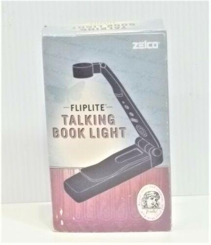Vintage Zelco Fliplite Talking Book Lite