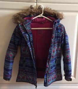 Girls Winter Coat Size 8 Cambridge Kitchener Area image 2