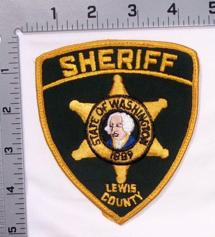 Vintage Lewis County Washington Sheriff