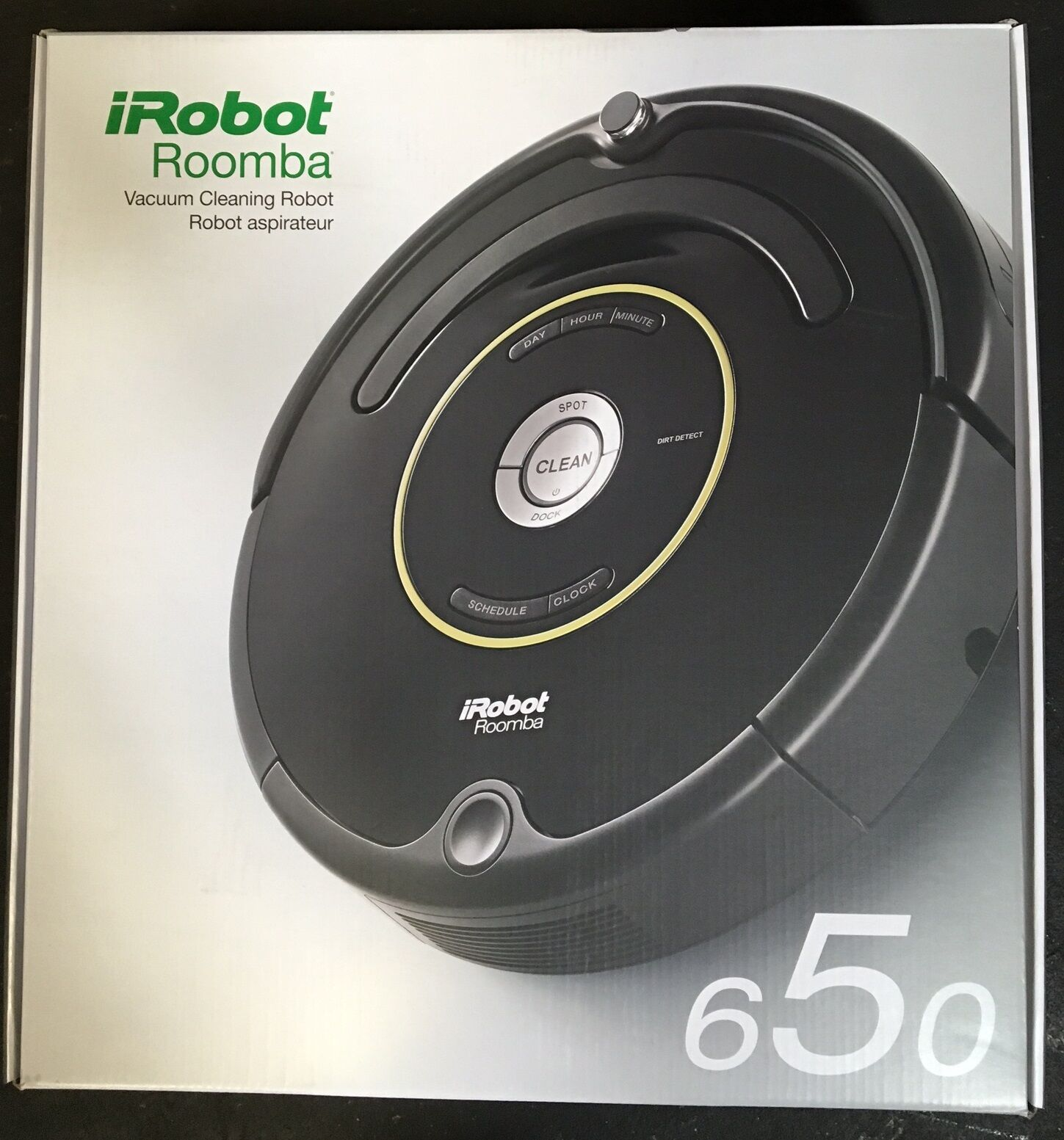roomba vacuum cleaner irobot roomba 650 vacuum cleaning robot brand new 10367