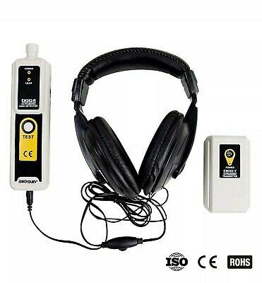 Allsun Ultrasonic Leak Detector Transmitter Air Water Dust Leak Pressure He...