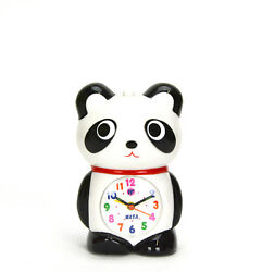 Adorable Panda Kids Musical Alarm Clock - Fun Children's Room Decoration