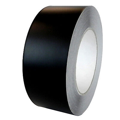 T.r.u. Aluminum Foil Black Matte Tape Non Reflective 2 X 27 Yards