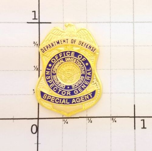 US DOD Hat Tack MINI PIN Dept Defense Criminal Investigative Service OIG DCIS