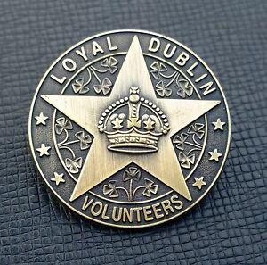 Loyal Dublin Volunteers Badge - UVF, Somme, WW1, Orange Order