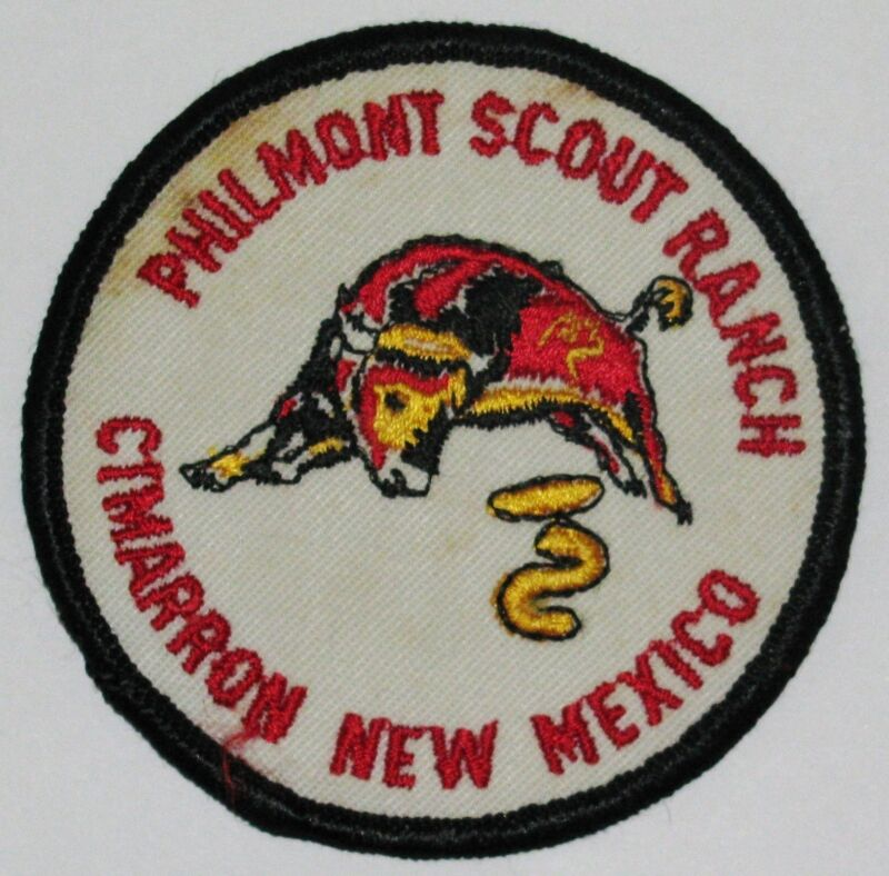 Philmont Scout Ranch TP3 Trading Post Pocket Patch  BSA