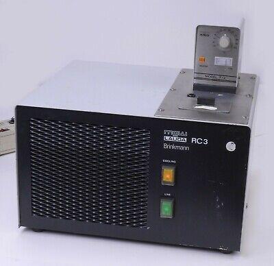 Brinkmann Mgw Lauda Rc3 Refrigerated Water Bath W Heater Model T-2