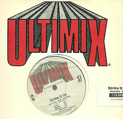 "ULTIMIX THE ULTIMATE MIX 37 BLACK BOX NENEH CHERRY 12"" MAXI (L9291)"