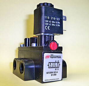 BRAND NEW ARO A212SS-120-A Single Solenoid Valve; Factory Fresh - Not Old Stock!