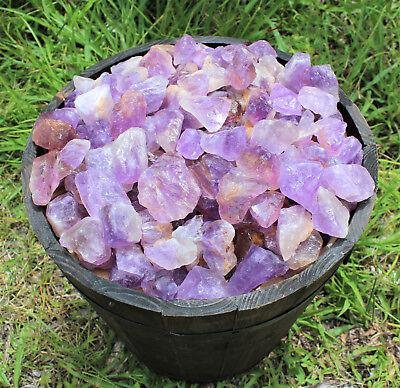 1/2 lb Bulk Lot Rough Natural Amethyst  Premium Grade Rock T