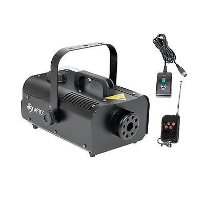 AMERICAN DJ VF1000 1000W 1 Liter Medium Size Mobile Smoke Fog Machine w/ Remotes