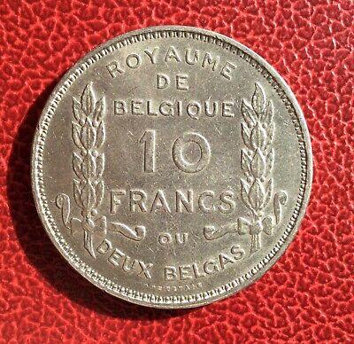 Belgique - Albert Ier - Superbe et rare 10 francs/ 2 Belgas 1930 Fr  pos A