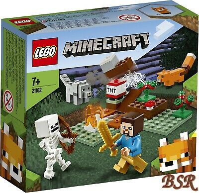 LEGO® Minecraft: 21162 Das Taiga-Abenteuer & NEU & OVP !