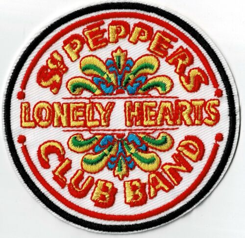 THE BEATLES - SGT. PEPPERS - IRON or SEW ON PATCH