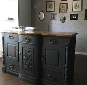 STUNNING Antique Sideboard/Buffet - DELIVERY INCLUDED