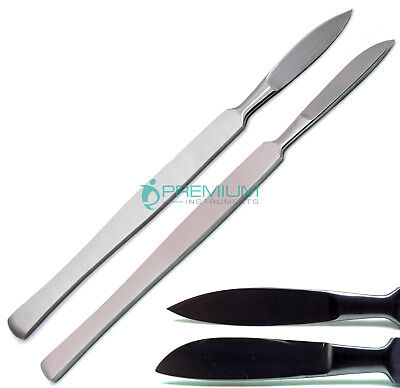 2 Pcs Scalpel Handle W Blade 15cm 16cm End 4cm Dental Surgical Instruments