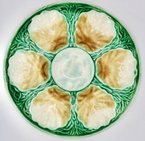 Early 20th Century French Oyster Plate