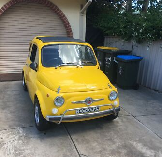 Fiat 500 F Rostrevor Campbelltown Area Preview