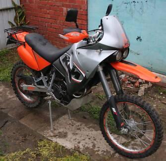 KTM LC4 Adventure dirt bike for sale Heidelberg West Banyule Area Preview