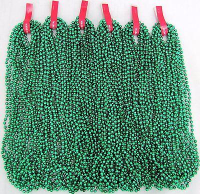 Mardi Gras Beads Green Disco 6 Dozen St Patricks Day Parade Party 72 Necklaces (Party Beads)