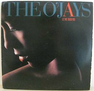 LP THE O'JAYS Let Me Touch You Vinyl 1987 USA VG ST-53036 - Italia - LP THE O'JAYS Let Me Touch You Vinyl 1987 USA VG ST-53036 - Italia