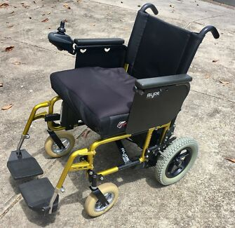 Wheelchair Electric Folding - Glide Series 4