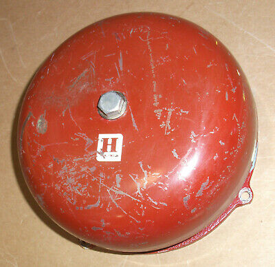 Vintage Fire Bell Red Alarm Honeywell 24vdc 8 Cycling Sound Hi Low Hi Low