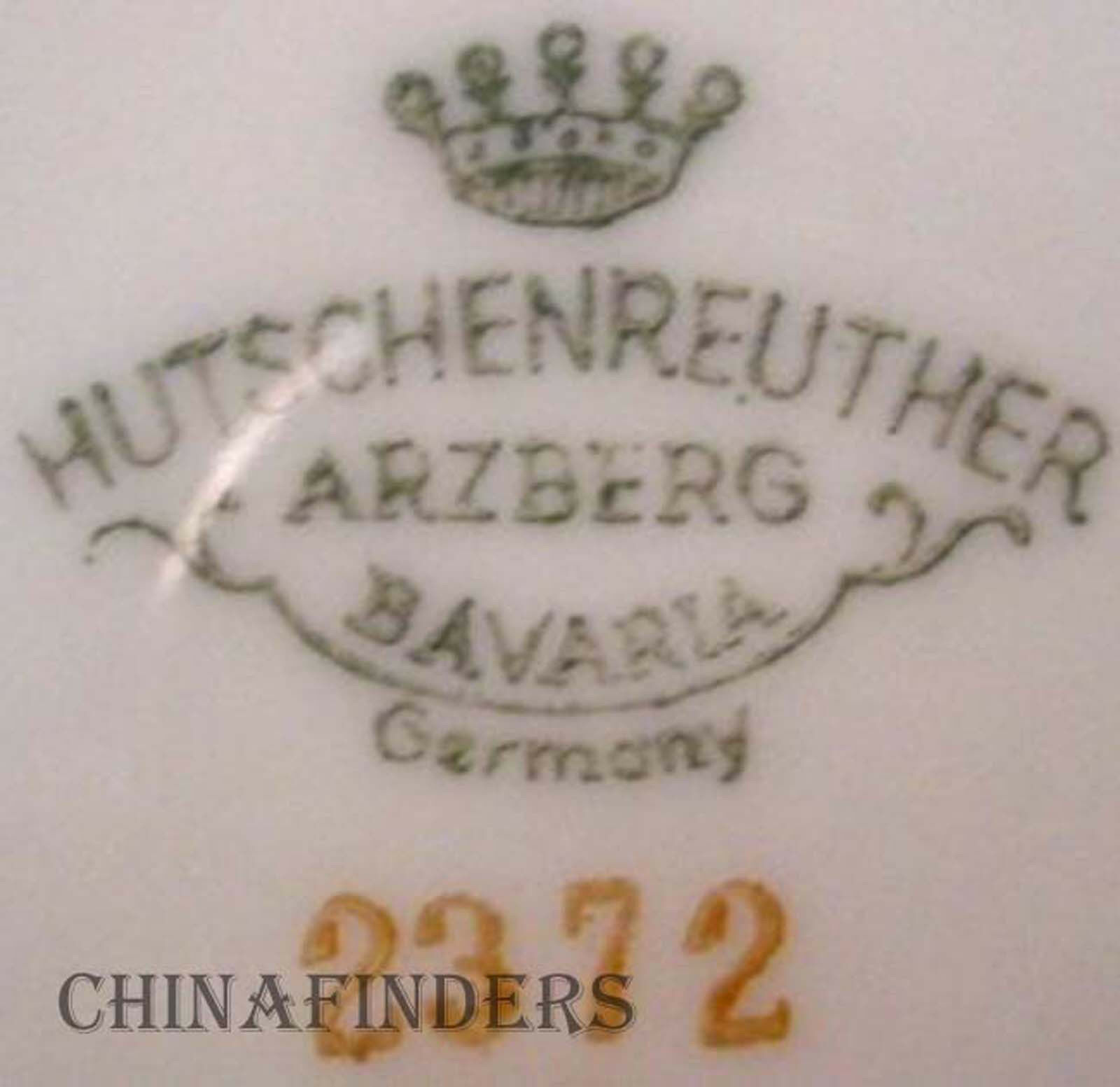 hutschenreuther china empress gold 2372 pattern salad plate picclick. Black Bedroom Furniture Sets. Home Design Ideas