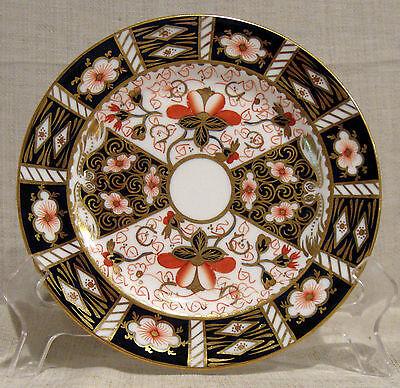 "Royal Crown Derby Traditional Imari 7"" Dessert Plate"