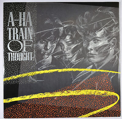 """A-HA - Train Of Thought (US Mix) UK 12"""" Vinyl Near Mint - New Wave Synth-pop"""