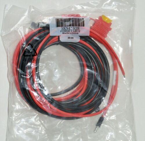 NEW Genuine Motorola HKN4191B OEM 10' Power Cable 12VDC 20A XTL APX FREE SHIP