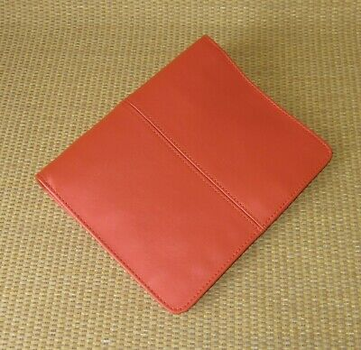 Compact Franklin Covey New Orange Leather 1 Rings Caroline Plannerbinder