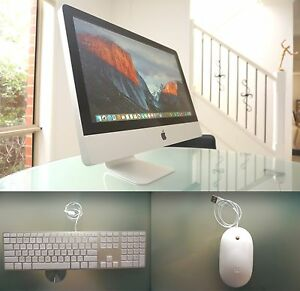 "iMac 21"" 2009 + 500GB + 4GB + WINDOWS 10 + Apple keyboard mouse Melbourne CBD Melbourne City Preview"