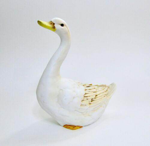 Vintage Tailored Tiles Bisque or Matte Ceramic Goose Figurine Figure